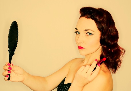 Vintage Pinup style photoshoot